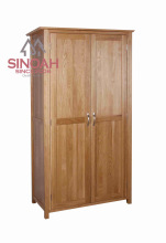 Original ecology Solid oak ladies wardrobe/bedroom GENTS wardrobe furniture/NW