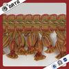 Hot sale tasel fringe trims for curtain decorative,curtain lace