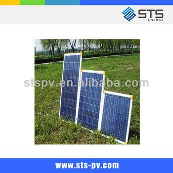 130W poly silicon pv solar panel