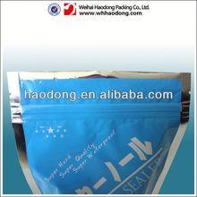 zipper envelope file bag with tearing