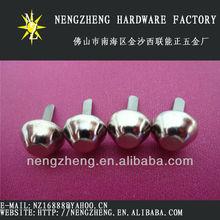 12mm nickel metal bucket spike nailhead for shoes