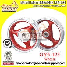 GY6-125 Motorcycle aluminum alloy wheels