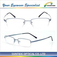 Classic Memory Beta Titanium Half Rim Glasses (F2964)