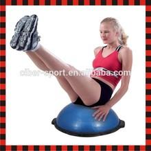 Balance dome exercise wholesale gym pilates half balance bosu ball