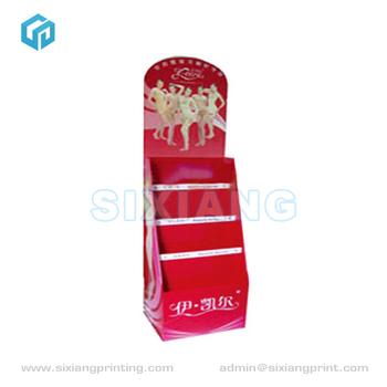 Cute Design Supermarket Pop Cardboard Mobile Store Display