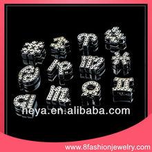 2013 Top selling slider letters into bracelets / wholesale