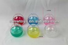 plástico vazio cápsulas vending ovo doces do brinquedo