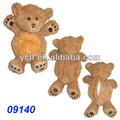 09140 de juguete de felpa oso de la piel, el cuerpo sin relleno