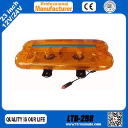 LTD-258 Mini Warning lightbar DC 12V halogen magnetic traffic warning light Emergency vehicle flash light (Thailand)