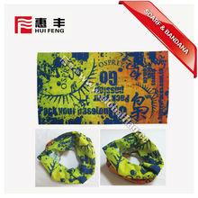cool football fans head scarf in HongKong Fair