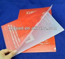 L shape A4 PP file folder