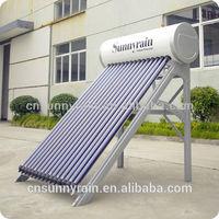 Sunnyrain Pressurized solar hot water system