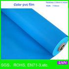 1465 colored plastic film and pvc sheet rolls soft