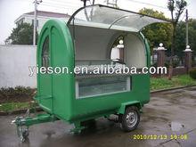 Hot Sale Fruits and Vegetable Cart freezer trailer for sale trailer restaurant YS-FV165
