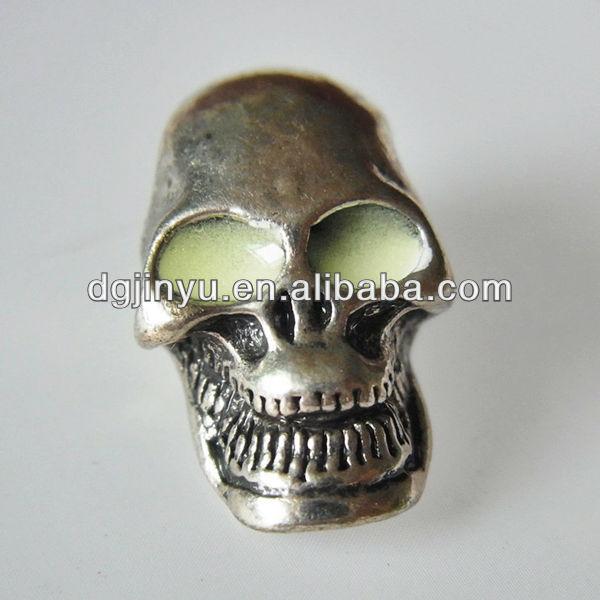 Skull Bracelets Wholesale Wholesale Luminous Metal Skull