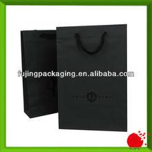 Foil stamping clothing shopping bag