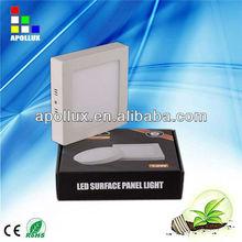 6w 12W 18w round led decking lights light fixture led ceiling panel lighting