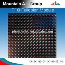 Led dot matrix outdoor ph 10 full color led display module