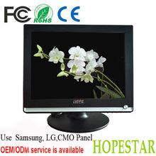 Desktop Computer 15 Inch Square Screen LCD Monitor / 15 inch hdmi monitor