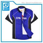 customized racing team pit crew mechanic staff uniform shirts