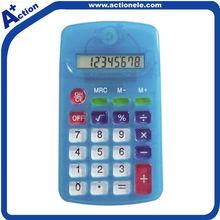 plastic moulding 8 digital calculator for promotional