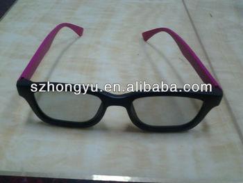 good quality passive RealD cinema 3D movie circular polarized glasses