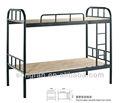 nuevo diseño de hierro de metal de doble cama con un precio más barato