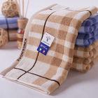 100% cotton jacquard towel with satin(G1051)