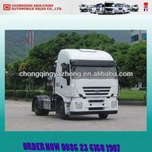 saiciveco hongyan 380hp 4x2 heavy duty camion de remorquage