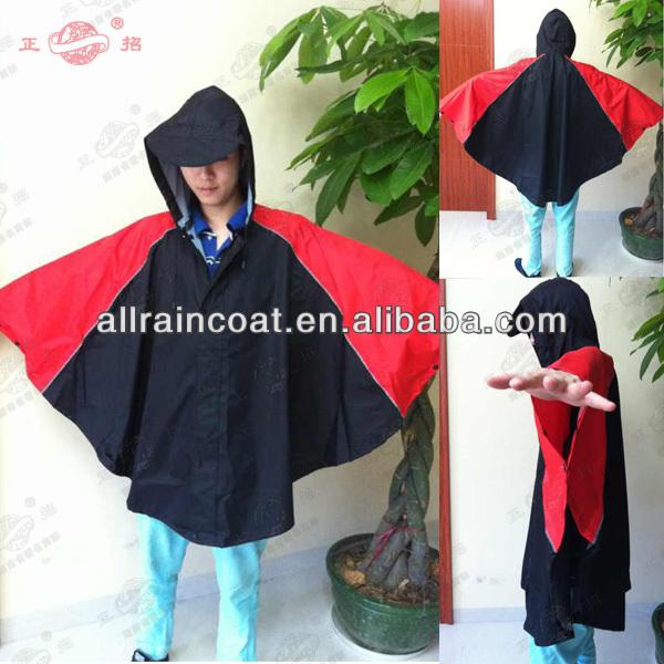 T27 Bicycle rain poncho raincoat for adults