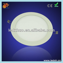 180mm diameter 12w ultra-thin led recessed ceiling panel light