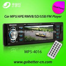 4.1 Inch Deckless 1 Din Car MP5 Player