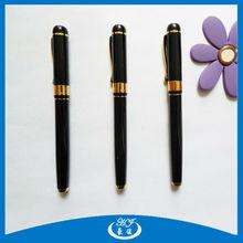Black Free Ink Writing Metal Roller Ball Pen Office Supplie