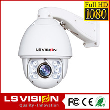 LS VISION traffic best price 2mp 1080p full hd high speed dome IR HD-SDI cameras auto tracking classroom lecture ptz camera
