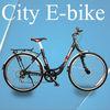 manufactory wholesale lady's electric bike 700C light city bike bicycle