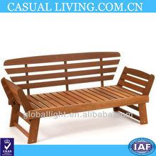 Double-Person Wooden Chair Wooden Outdoor/Indoor Bench