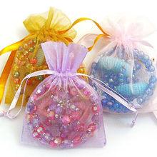 Fashion Sheer Organza Bag Jewelry Pouch Gift