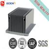 anodizing silver aluminum radiator extrusion profile