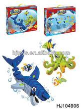 Intelligent block toy building block kid's toy underwater world HJ104906