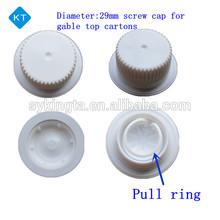 KT Gable top plastic Screw caps