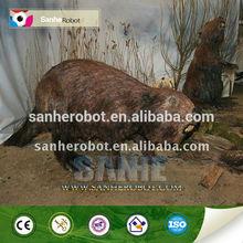 Prehistoric life size artificial animal model--Nutria