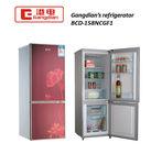 Double door red home refrigerator