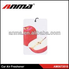 Nice anima cartoon shape car paper air freshener perfume car