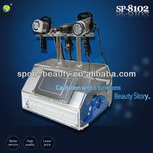 2014 Salon TOP ONE tripolar RF+vacuum+BIO ultrasound cavitation slimming machines