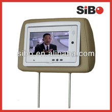 Android OS Tablet PC With Car Headrest For Web Server And Advertisement