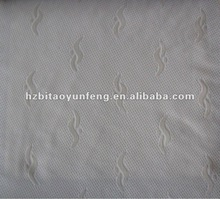 polyester woven like knitted Bed mattress ticking fabric