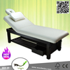 Waxing & Makeup Soild Wood Spa Bed,Bed Massage&Other Beauty Salon Furniture 332