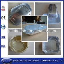 contenitore di alluminio con coperchio