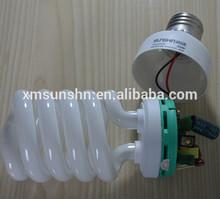 tri-color powder high lumen energy saving lamp 23w ra>85