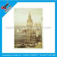 Factory sheet protector/l shape clear folders/A4 plastic file folder